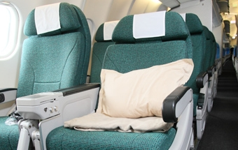 Comfortable Flying for Grandma on Premium Economy