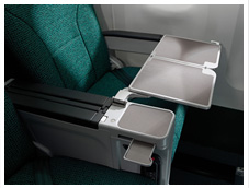 Premium Economy Meal Table | Cathay Pacific