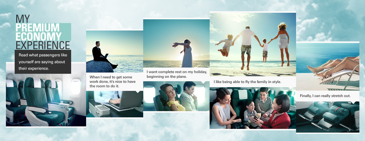 Premium Economy Single Travel | Cathay Pacific