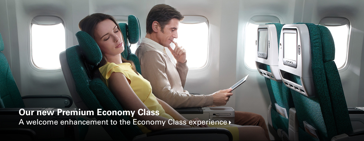 Premium Economy Family Travel | Cathay Pacific